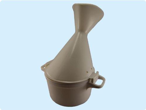 Inhalator für Heilpflanzenöl Gesichtssauna Dampfinhalator Inhalierhilfe bei Erkältung oder Bronchitis Top-Qualität