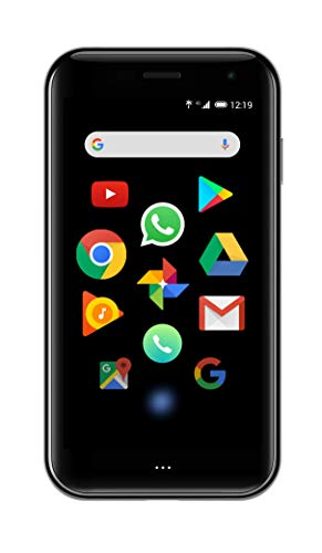 Palm Black 3.3  4G, Android 8.1, RAM 3GB, Octa Core, Fotocamera da 12 mp [Versione italiana]