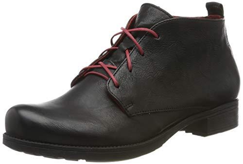 Think! Damen Denk_585018 Desert Boots, Schwarz (Sz/Kombi 09), 42 EU