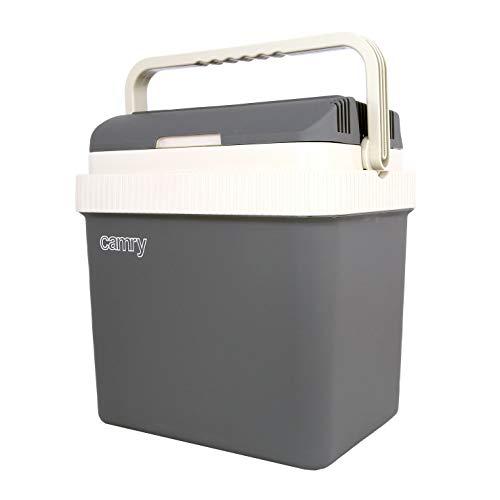 Kühlbox für Auto & Steckdose 24 Liter 12V&230V Warmhaltebox Isolierbox Camping