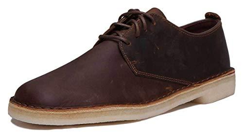Clarks Originals Herren Desert London Derbys, Braun (Beeswax Leather), 43 EU