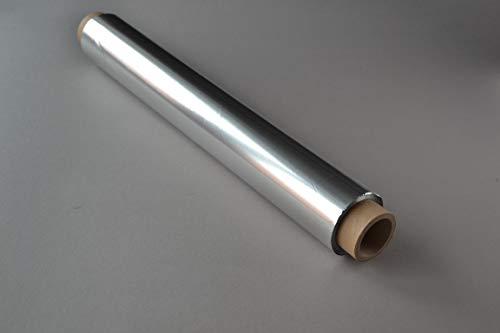 4 Rollen Alufolie (45cm × 130m, 11my) extra breit Aluminiumfolie Folie Lebensmittel geeignet