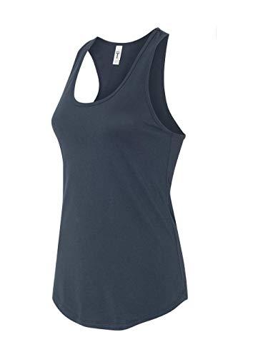 Next Level Apparel Women's Tear-Away Tank Top, Indigo, Medium
