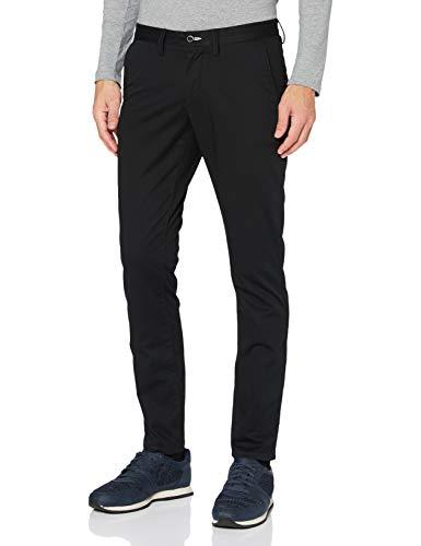 GANT Slim Twill Chino Pantalones, Negro (Black 5), 29 (Talla del Fabricante: 33/32) para Hombre