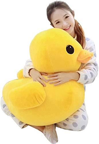 Gele Eend Knuffelbeesten Pluche Toy Cute Big Yellow Duck Knuffels voor Verjaardag Gift van de Baby Maat 12Cm-50cm, 50cm,1m
