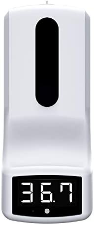 Automatic Thermometer soap Dispenser Non-Contact Temperature Financial sales ! Super beauty product restock quality top! sale M