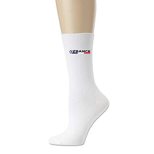 Cotton Socks for Men and Women France Flag Soccer Football Novelty Sock Unisex