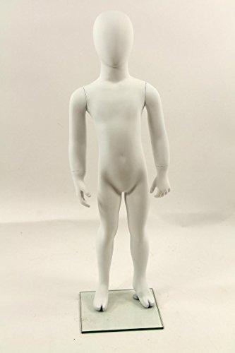 Qubeat Mannequin Enfant Mat Blanc