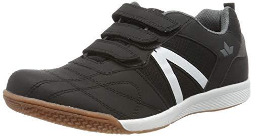Lico First Indoor V Jungen Multisport Indoor Schuhe, Schwarz/ Grau, 39 EU