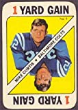 1971 Topps game cards (Football) card#4 Mike...