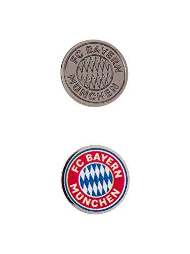 FC Bayern München Pin 2er Set Logo