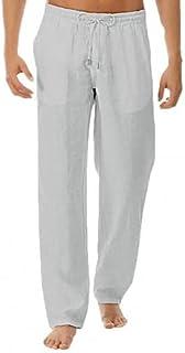 SssabInnasydk Workout Pants Men's Sports Pants Jogging Pants Gym Trousers Yoga Pants Drawstring Mid Rise Men Substantial C...