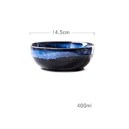 GYZBYSchüsselofen Variable Keramikförmige Schüssel Große Schüssel Obstschale Dessertschale Gemüsesalat Suppenschüssel Nudelschüssel Reisschale