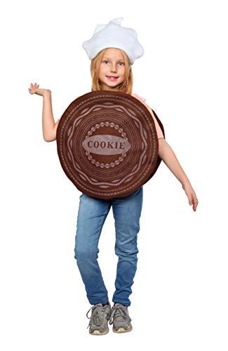 Dress Up America Sandwich Cookie Costume - Cute Cookie Costume (Kids) Brown