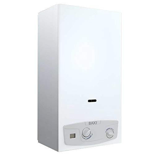Baxi 7705412 Calentador 11i Eco Bajo NOx Gas Butano, Blanco