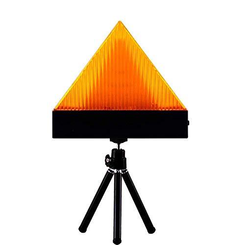YANF sans Fil Gyrophare Magnetique LED, Gyrophare Signal d'Avertissement Lumière d'Alarme Lumière pour Voiture (Orange)