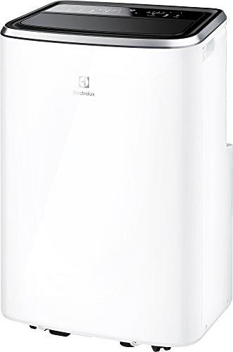 Electrolux EXP34U338CW Chillflex Pro 14 Condizionatore d'aria portatile 14K BTU, sistema autoevaporante, 1500 W, 45 Decibel, Classe A, Bianco