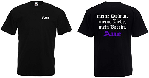 world-of-shirt Herren T-Shirt AUE Ultras Meine Heimat