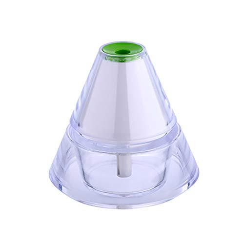 90 ml ätherisches Öl Diffusor Auto-Öl-Zerstäuber USB-Auto-Aufladung Mini-Luft-Ultraschall-Luftbefeuchter Luftreiniger Innenraum mit 7 Farb-LED-Leuchten Kaltnebelbefeuchter Yoga, Büro, Spa