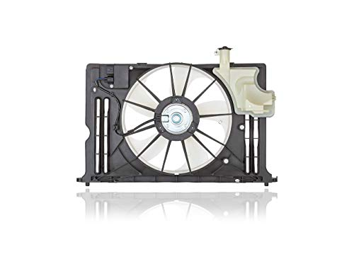 Engine Cooling Fan Assembly - PACIFIC BEST INC. For/Fit 167110T131 14-19 Toyota Corolla With Module