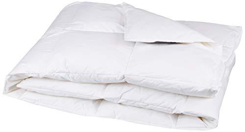Künsemüller Daunendecke Decke, Baumwolle, weiß, 155x220