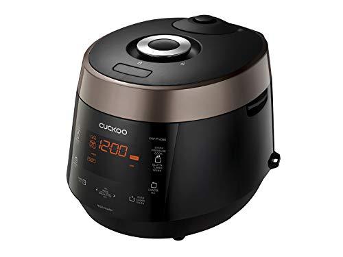 CUCKOO CRP-P1009S Dampfdruck Reiskocher 1800ml 10 Personen | GABA-Reis | Programmierbar | Sprachnavigation | 19 Auswahlmöglichkeiten