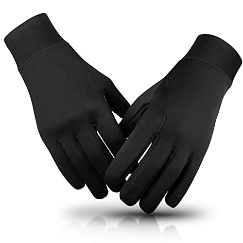 Mens Winter Gloves: Touchscreen Lightweight with Soft Breathable Lining Warm Glove for Driving Hunting Shooting Fishing - Large