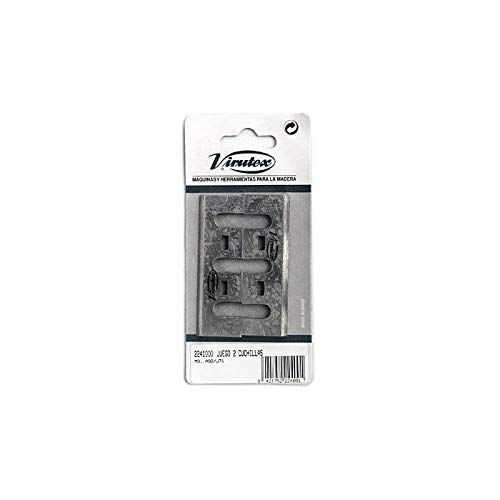 VIRUTEX 2241000 - Juego 2 cuchillas MD. A92/J71