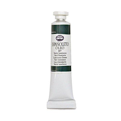 Lienzos Levante 0110103327 - Peinture à l'huile Españoleto, Tube de 20 ML, 327, Coleur : Vert Lumineux