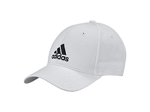 Adidas Logo Baseball Cap (OSFMen, white/black)