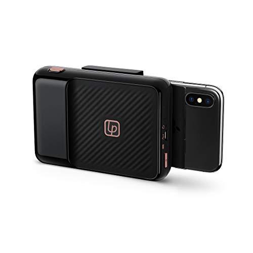 Lifeprint - Impresora Instantánea, Bluetooth, Transforma tu Teléfono Inteligente en Cámara Instantánea, Compatibilidad con Apple y Android, Negro