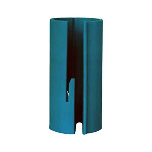 Plastic prachtig ontworpen kerst cadeaupapier snijgereedschap Mini Cutter) Blauw)
