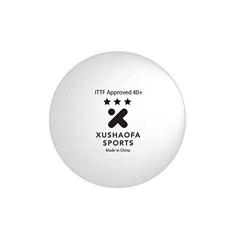 KINGNIK 3Star Ittf 40+ Seamless Table Tennis Balls, 12pieces