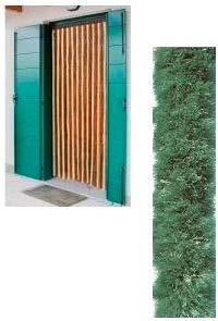 Tenda in ciniglia 120 x 220 cm colore Verde