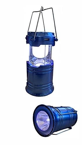 Lampião Lanterna Solar Elétrico Tm 6006