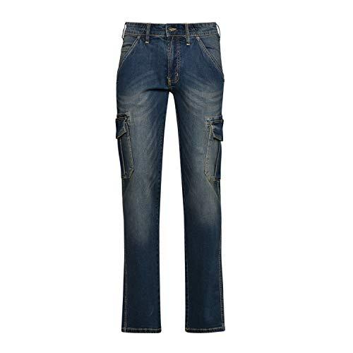 Utility Diadora - Jeans da Lavoro Pant Stone Cargo per Uomo (EU 30)