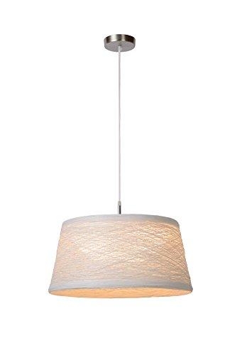 Lucide FISEL - Suspension - Ø 50 cm - Blanc