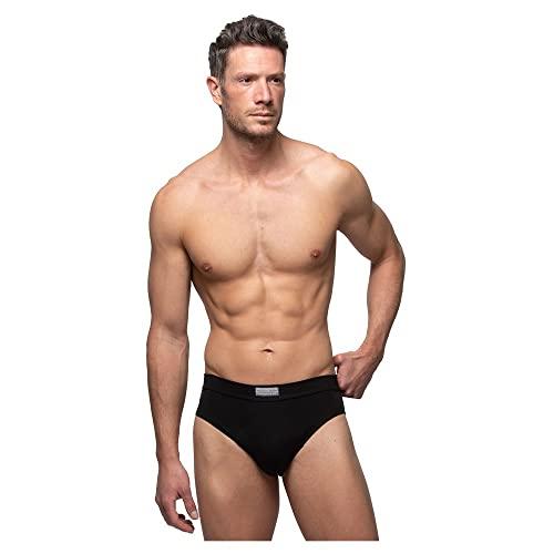 Abanderado ocean moda mpks, slip para hombre, (negro + gris vigoré cc2), x-large (tamaño del fabricante:56), pack de 2