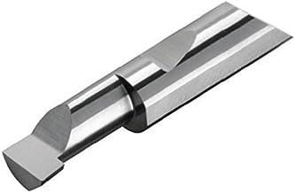 AlTiN Coated BBL-230600X 0.230 Minimum Bore Diameter Micro 100 0.058 Projection 2-1//2 Overall Length Solid Carbide Tool Coated 5//16 Shank Diameter 0.005 Tool Radius Left Hand Cutting Radius Boring Tool 0.600 Maximum Bore Depth