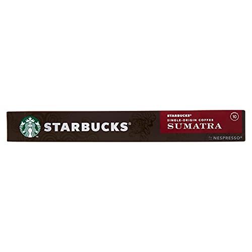 Starbucks Single-Origin Sumatra By Nespresso Caffè Espresso 10 Capsule