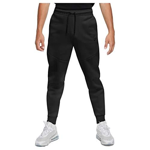 Nike Herren M NSW TCH FLC JGGR Sport Trousers, Black/(Black), M