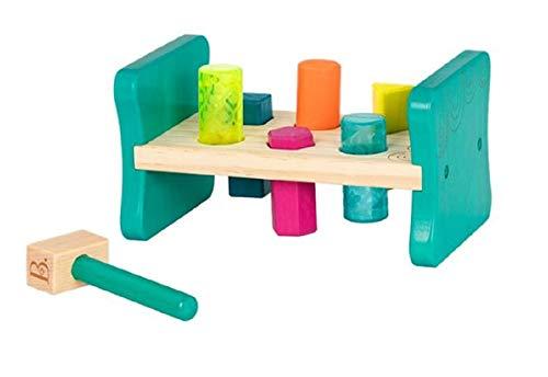 B. toys とんとんハンマートイ 木製形合わせのおもちゃ BX1762Z
