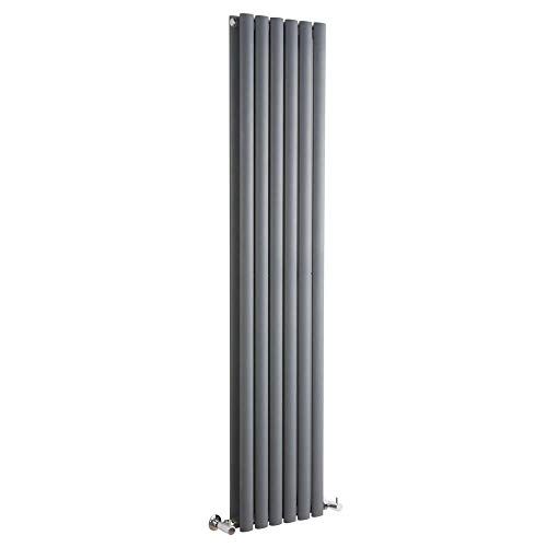 Hudson Reed Vitality – Radiateur Design Vertical – Anthracite – 160 x 35,4cm Double Rang