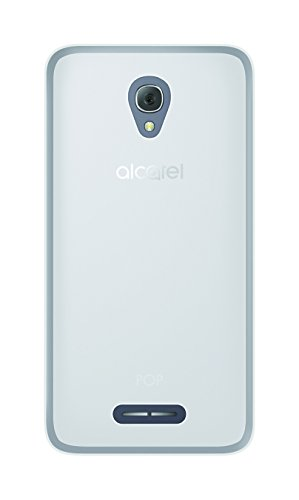 Phonix ALP4PGPW - Carcasa Gel para Alcatel Pop 4 Plus, Transparente