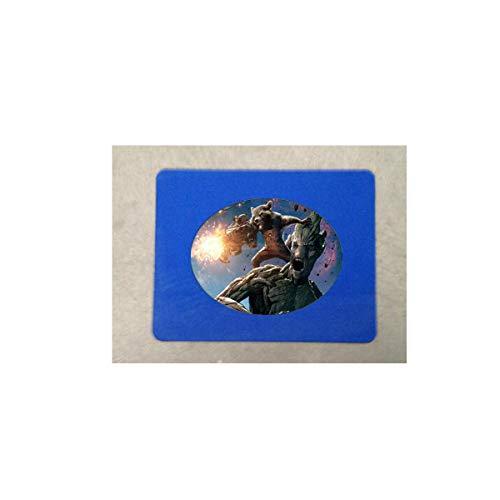 Collier souvenir avec pendentif en forme de bab Guardians of the Galaxy, motif étoile Seigneur arbre et homme Gamora Drax le destroyer Rocket Time Gem 1 tapis de souris