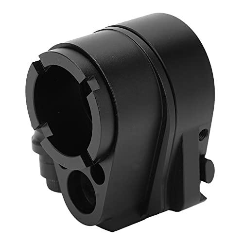Adaptador de stock plegable, kit de montaje de ensamblaje de tuerca CNC anticorrosión de aleación de aluminio con llave hexagonal compatible con AR-15 / AR-10