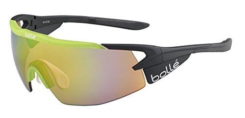 Bollé Aeromax Gafas de sol, negro/verde, M