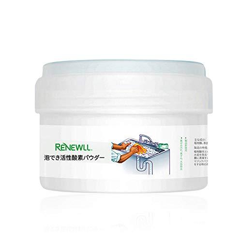 Hamkaw Upgrade WC Cleaner, Magic Cleaner Foam para una Fuerte Limpieza/Drenaje/desodorización, detergente Multiusos para Inodoro/desagüe de Suelo/Lavabo/Lavadora/Tubo/Pared