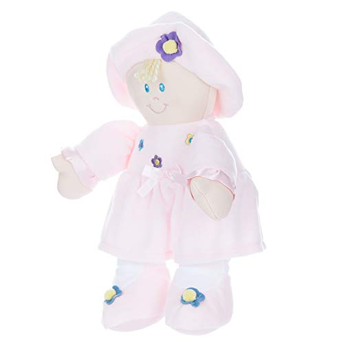 Stuffed Plush Baby Doll Kira, 11 inches