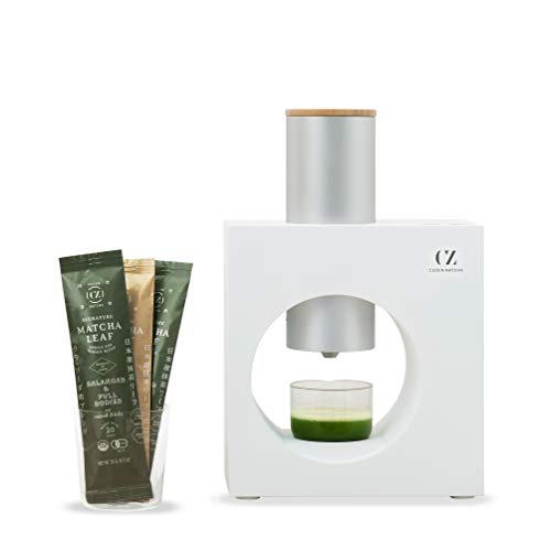 Cuzen Matcha Starter Kit, an Innovative At-home Matcha System that Produces Freshly Ground Matcha from Organic Shade-grown Leaves